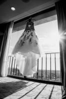 Wedding Dress in Grand Cypress window