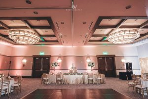 elegant weding reception