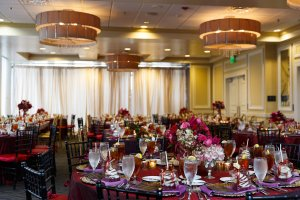 Wedding Luncheon Tables
