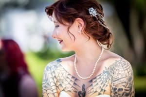 Edgy Wedding Bride
