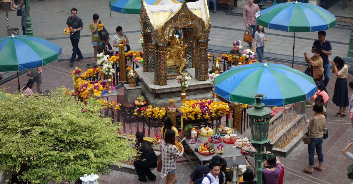 背包客與購物狂的泰國之旅:曼谷四面佛, Central World  (六)
