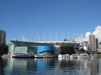 BC Place Stadium, Vancouver, BC