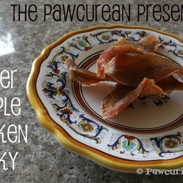 The Pawcurean Presents: Super Simple Chicken Jerky