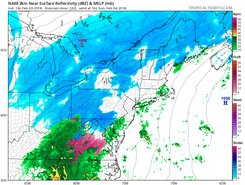Final Call For Sunday's Winter Ice/Snow Storm – PA Weather
