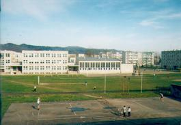 Grunnskólinn minn, sem þá hét Grunnskóli nr. 8 í Sanok, þar sem ég var átta ára undir stjórn Jaruzelskis.