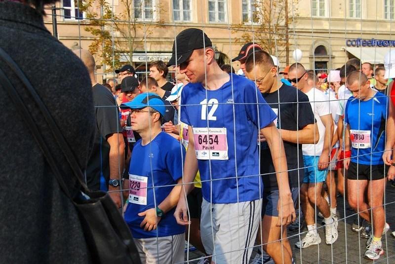 Maraton Warszawski - przed startem