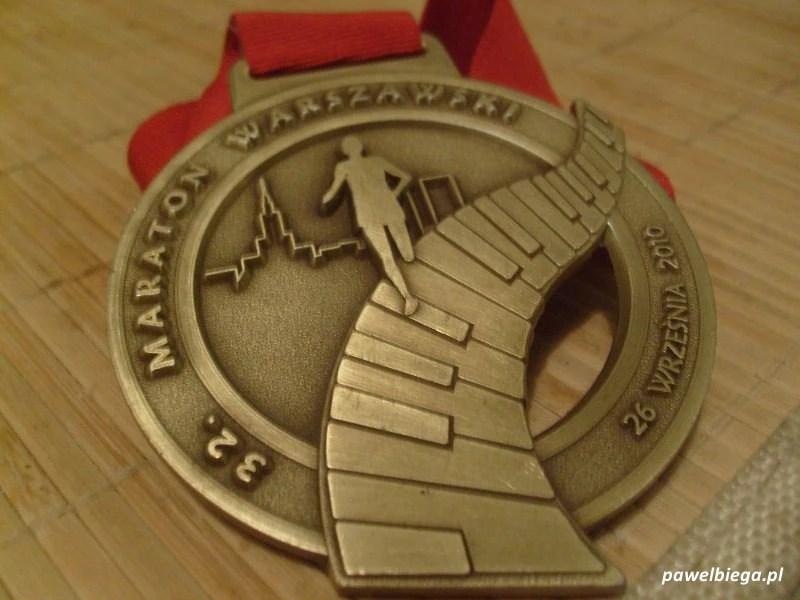 Maraton Warszawski - medal