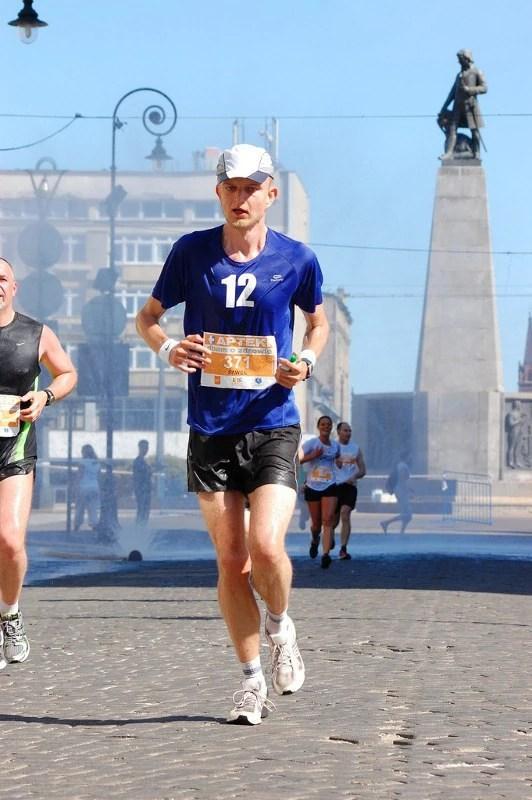Łódź Maraton 2011 - plac Wolności