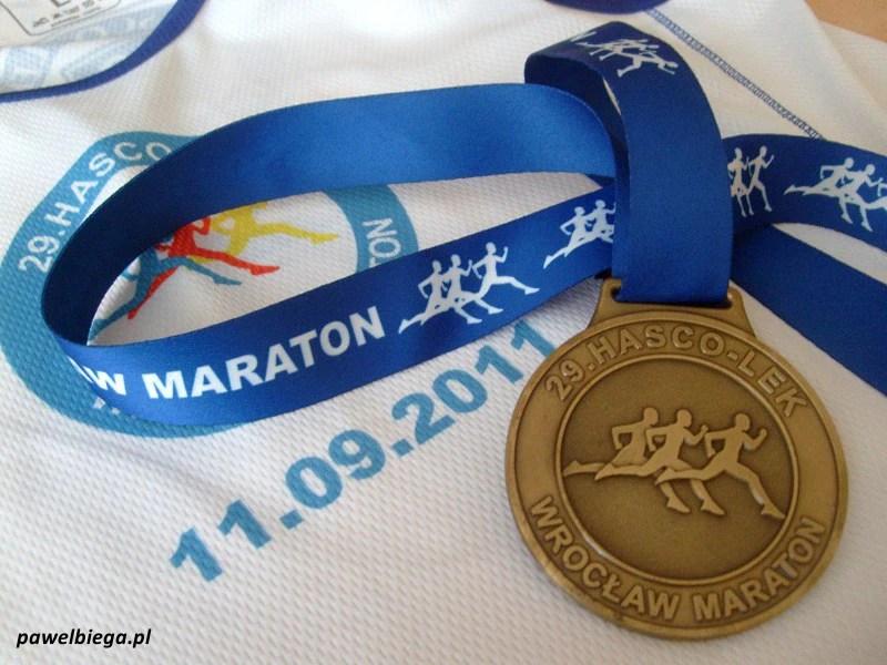 29 Hasco-Lek Wrocław Maraton - medal