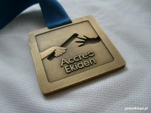 Accreo Ekiden 2012 - medal
