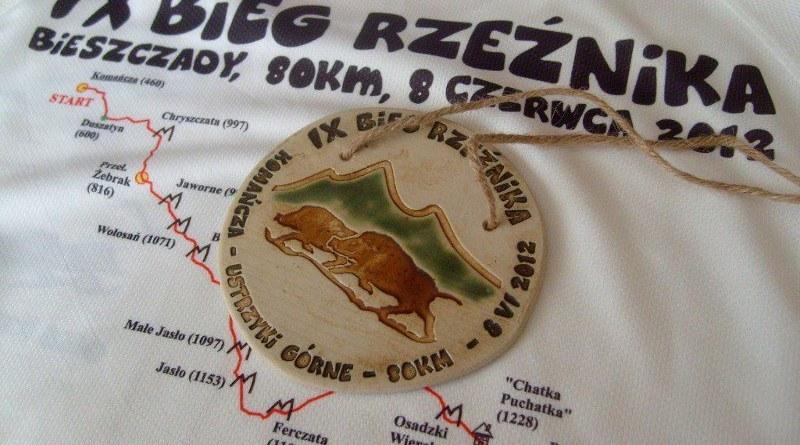 IX Bieg Rzeźnika - medal