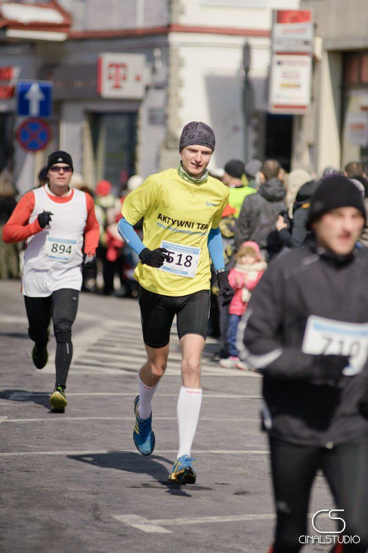Półmaraton dookoła Jeziora Żywieckiego - na trasie
