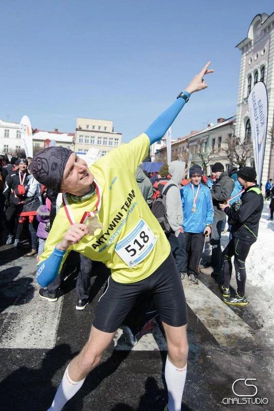 Półmaraton dookoła Jeziora Żywieckiego - na mecie