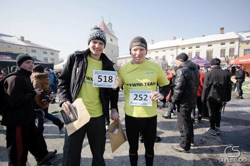 XIV Półmaraton dookoła Jeziora Żywieckiego - odbiór numerów