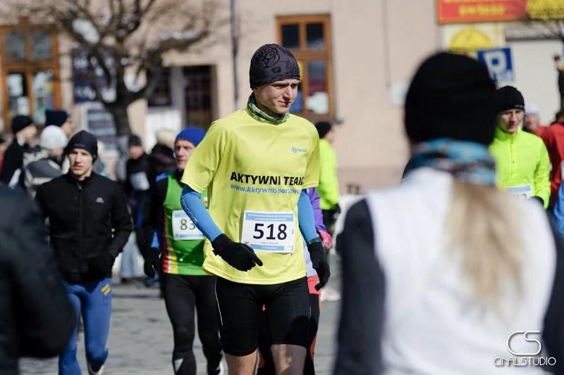 XIV Półmaraton dookoła Jeziora Żywieckiego - rozgrzewka