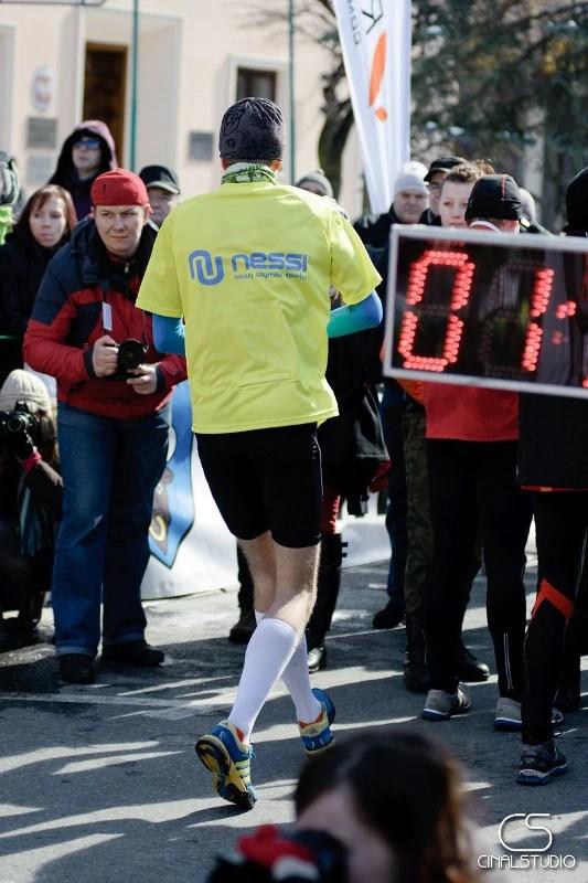 XIV Półmaraton dookoła Jeziora Żywieckiego - za metą
