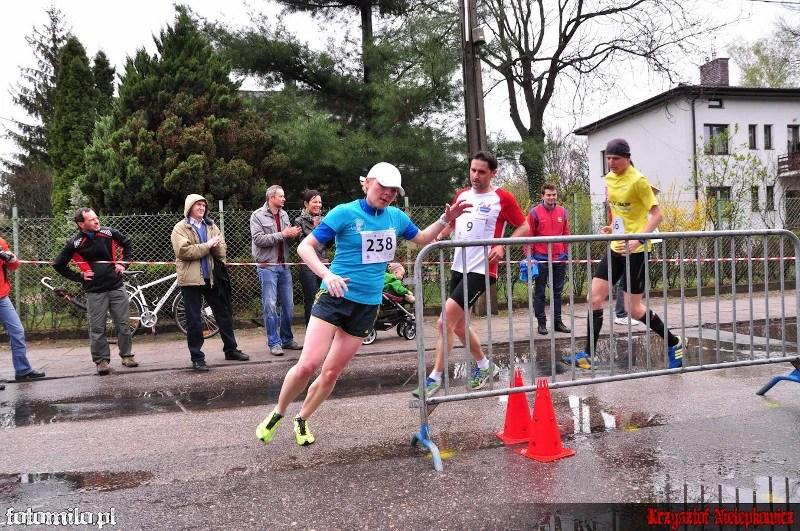 Bieg STO-nogi w Milanówku - polmetek