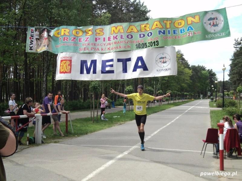 """Cross Maraton """"Przez Piekło do Nieba"""" - meta"""