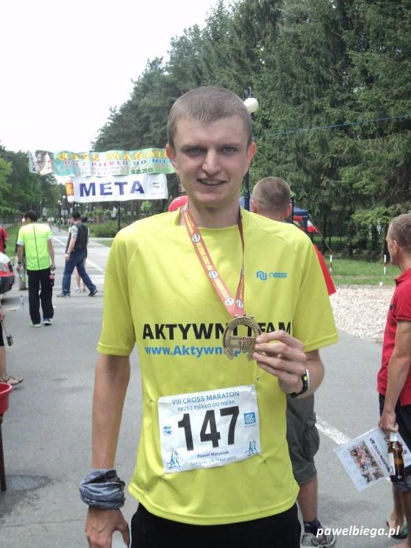 """Cross Maraton """"Przez Piekło do Nieba"""" - z medalem"""