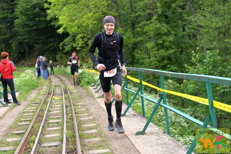 Rzeźniczek - na trasie biegu