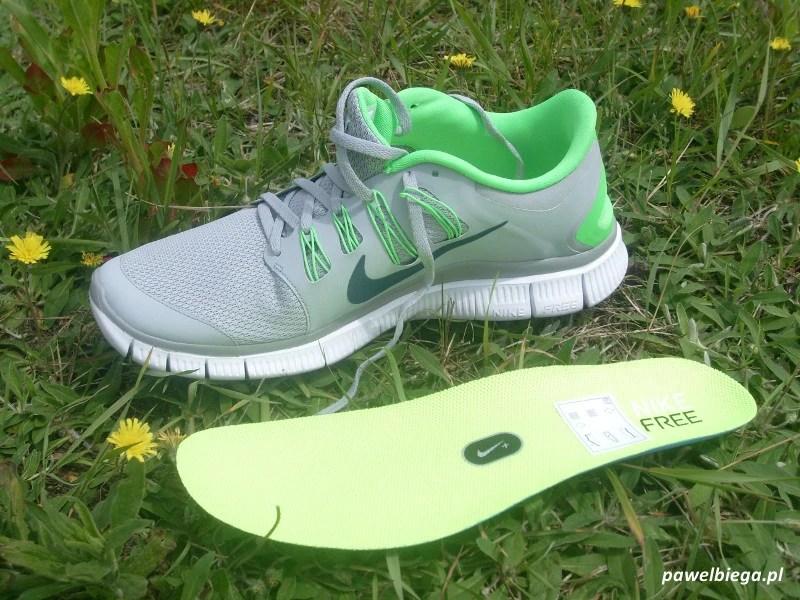 Nike Free 5.0+ wkładka
