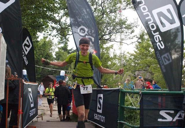 IV Maraton Gór Stołowych - meta