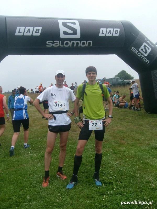 IV Maraton Gór Stołowych - na starcie
