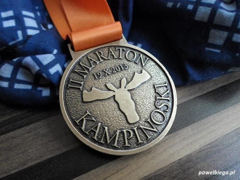 II Maraton Kampinoski - medal
