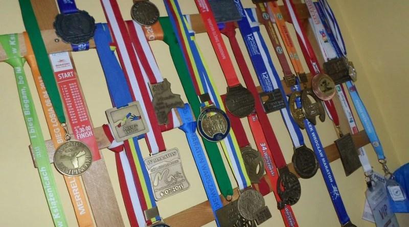 Wieszak na medale - zbliżenie