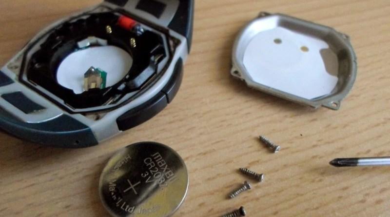 Beurer PM25 - wymiania baterii