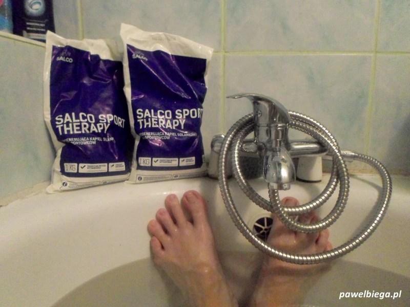 Salco Sport Therapy - pierwsza kąpiel