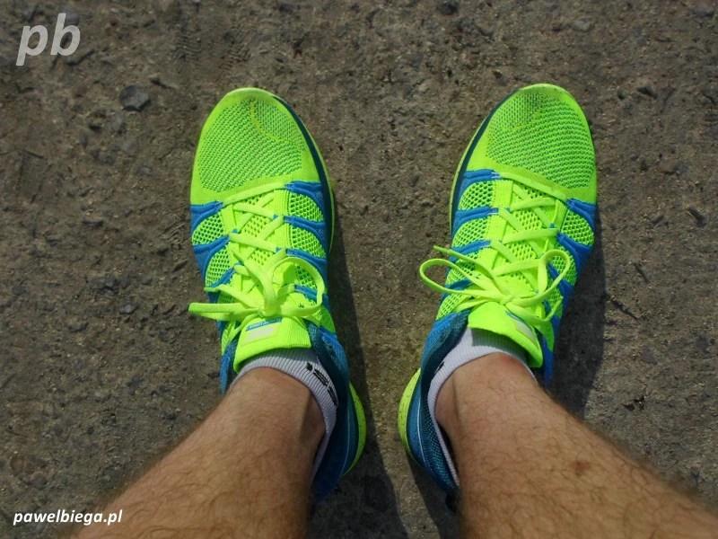 Nike Flyknit Lunar 2 - po treningu