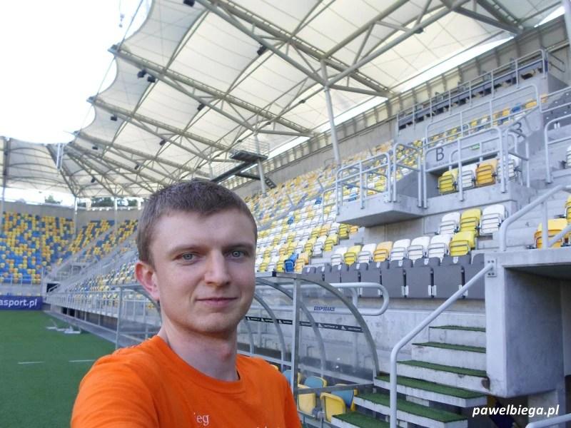 XX Maraton Solidarności - stadion Arki Gdynia