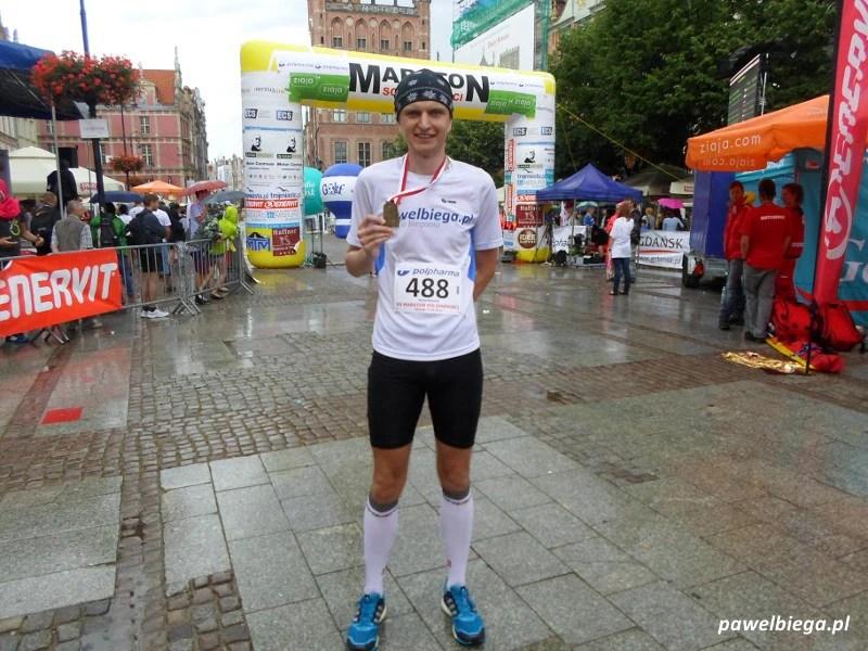 XX Maraton Solidarności - meta