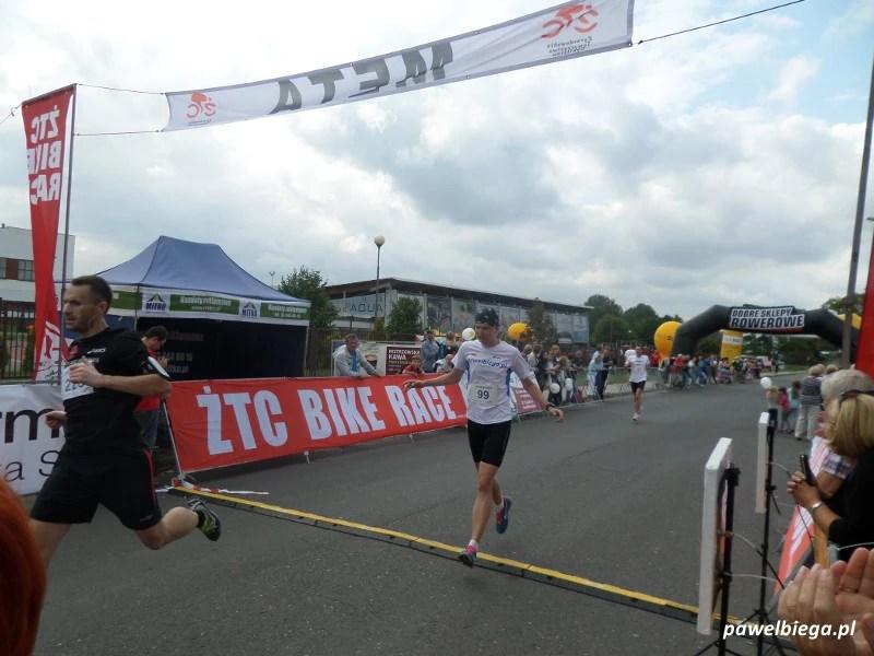 Żyrardów w biegu 2014 - finisz