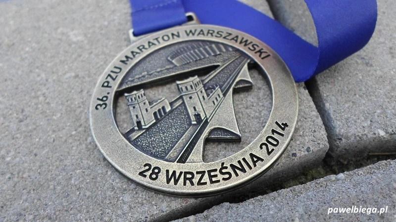 36 Maraton Warszawski - medal