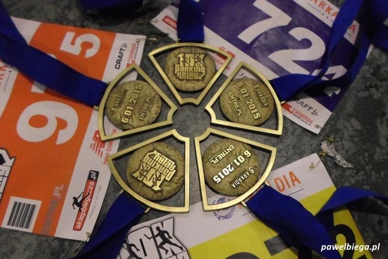 10K Parking Relay - medale