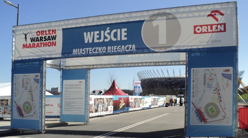 Orlen Warsaw Marathon - miasteczko biegacza