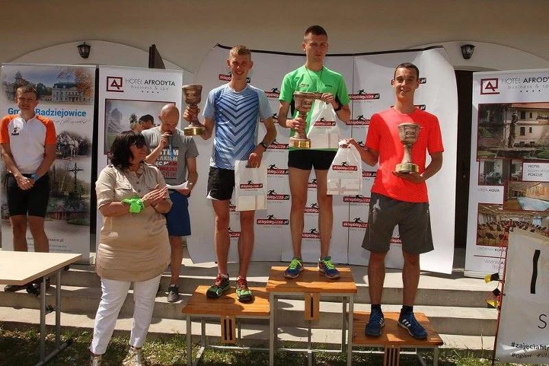 III Bieg Chełmonskiego - podium
