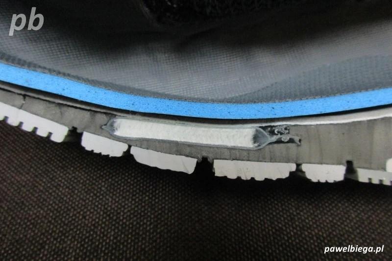Nike Zoom Odyssey - przekrój przód
