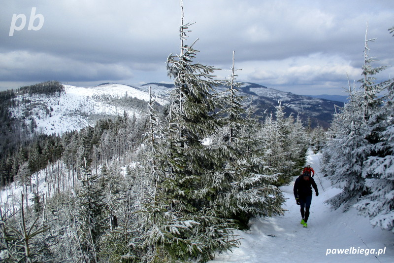 Beskid Śląski - zimą