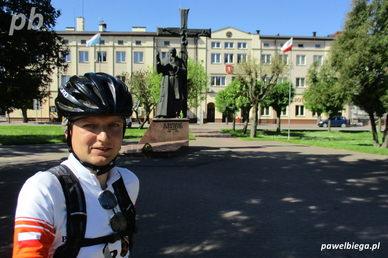 Rowerem - Nowe Miasto nad Pilicą
