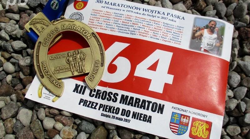 XII Maraton-przez Piekło do Nieba - medal