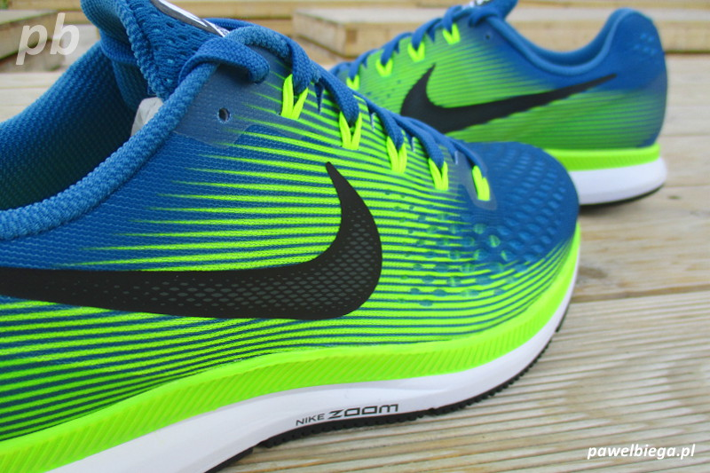 Nike Zoom Pegasus 34 - bokiem