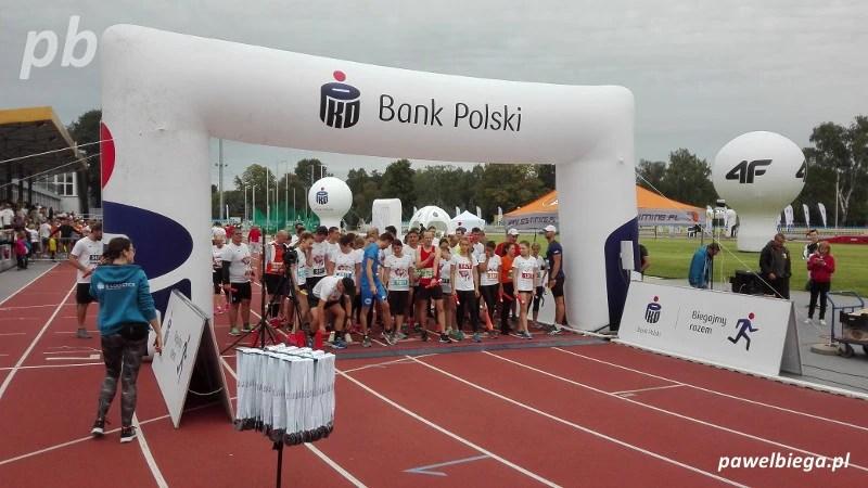 3. PKO Bieg Charytatywny - start