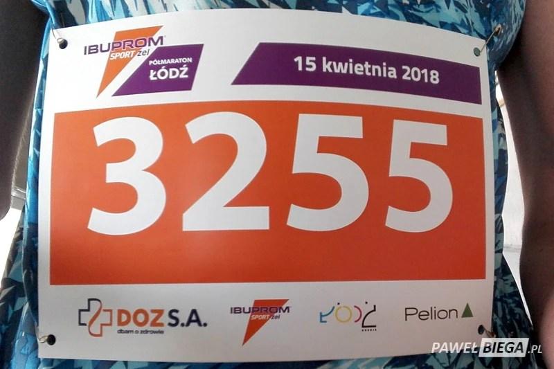 Półmaraton DOZ Dbam o Zdrowie - numer