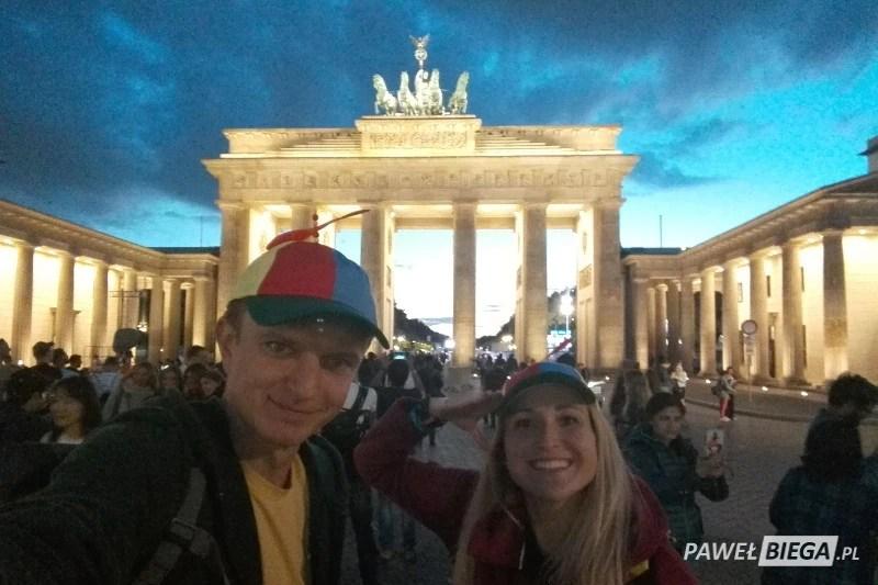 Berlin Marathon 2018 - pod bramą