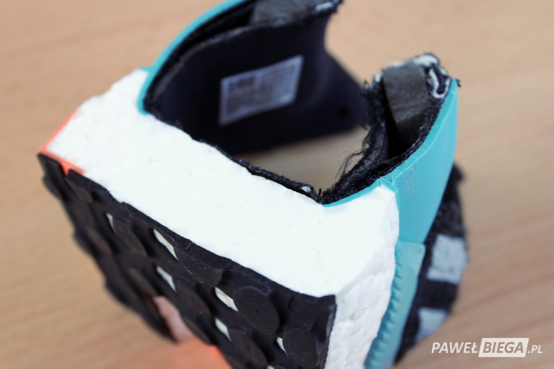 Adidas SolarBoost - zapiętek
