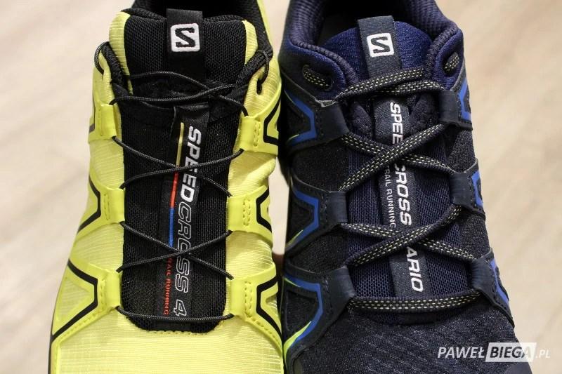 Salomon Speedcross vs Vario - sznurowanie