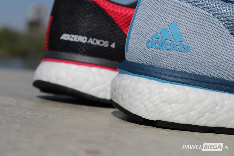 Adidas Adizero Boston vs Adios - boost